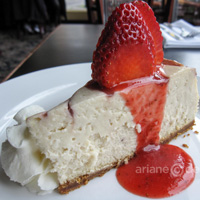 Gramercy Grill Cheesecake