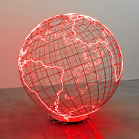 Hot Spot by Mona Hatoum