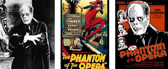 Phantom film posters