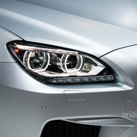 BMW front light detail