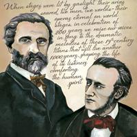 Verdi/Wagner poster detail