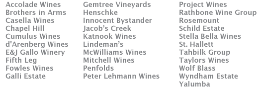 wine list
