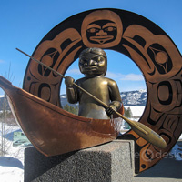 Where Legends Meet sculpture