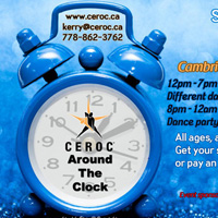CEROC event poster detail
