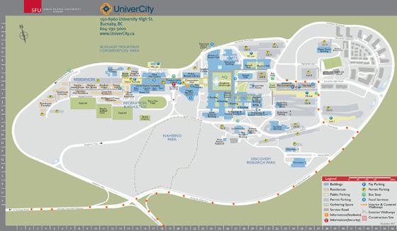 UniverCity Map