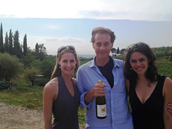 house wine and Alberto Antonini