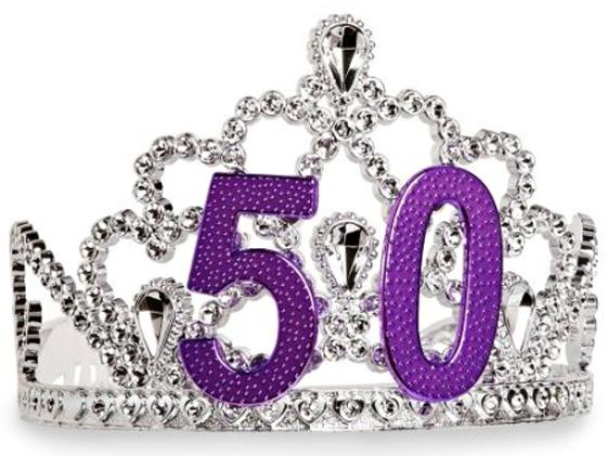 50 tiara