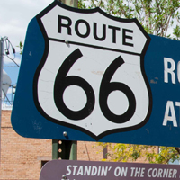 Route 66 sign, Winslow