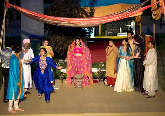 Bollywood Wedding. Photo by Tim Matheson
