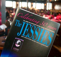 2012 Jessie Award program cover; photo by Rebecca Bollwitt.