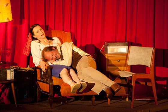 Kathleen Duborg and Mike Rinaldi in Electric Company's You Are Very Star