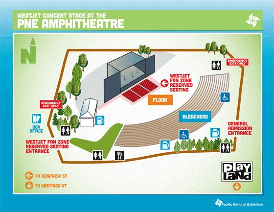 PNE map