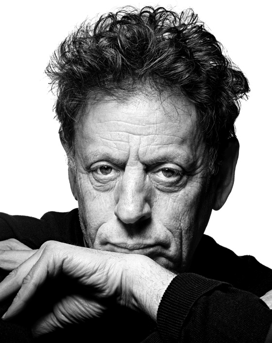 Philip Glass. Photo by Raymond Meier