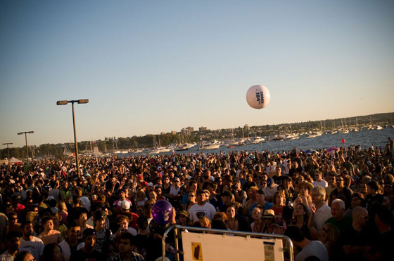 SHOREfest crowd