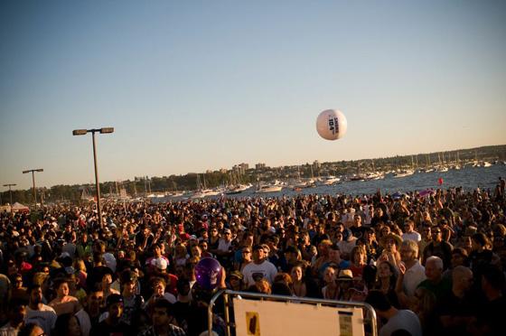 SHOREfest crowd