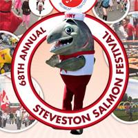 Salmon Festival poster detail