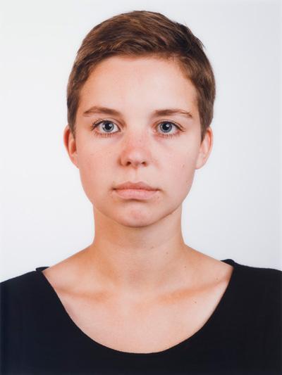 Thomas Ruff portrait, Isabelle Graw