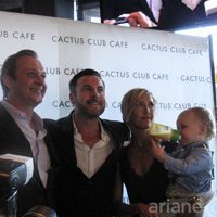Top Chef Canada Matt Stowe and family