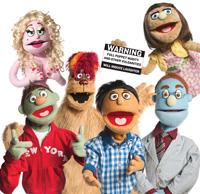 Avenue Q puppets