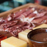 Grain cheese and charcuterie board
