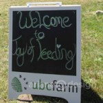 Third Annual Joy of Feeding at UBC Farm