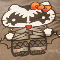 KISS Hello Kitty shirt