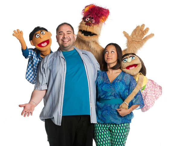 Princeton, Andy Toth, Trekkie Monster, Shannon Chan-Kent, Kate Monster
