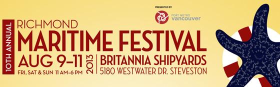 Maritime Festival banner