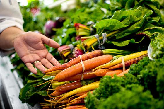 Granville Public Market produce