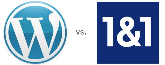 wp vs. 1and1