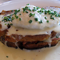 Earls Croque Madame