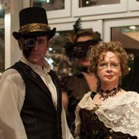 VIFF Gala steampunk folks
