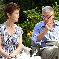 Anna Hagan and Terence Kelly