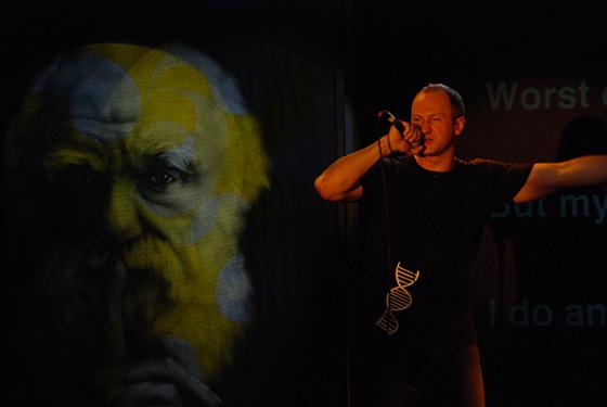 Baba Brinkman; photo by Yuval Binur