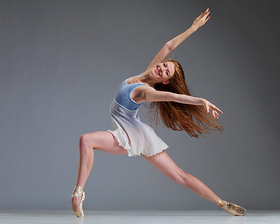 Coastal City Ballet dancer