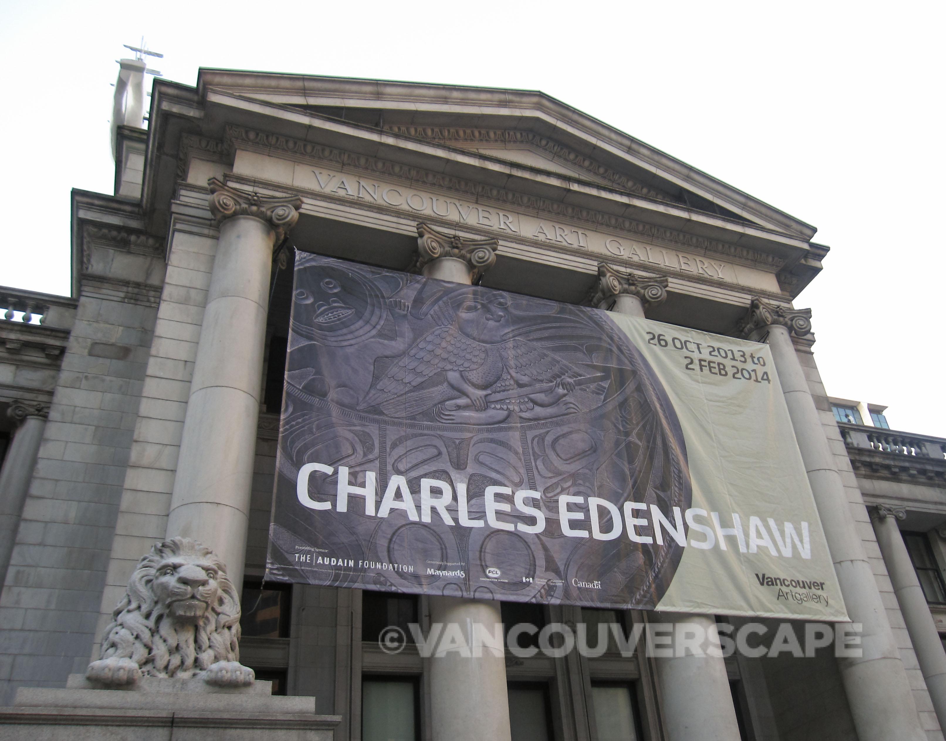 Charles Edenshaw signage