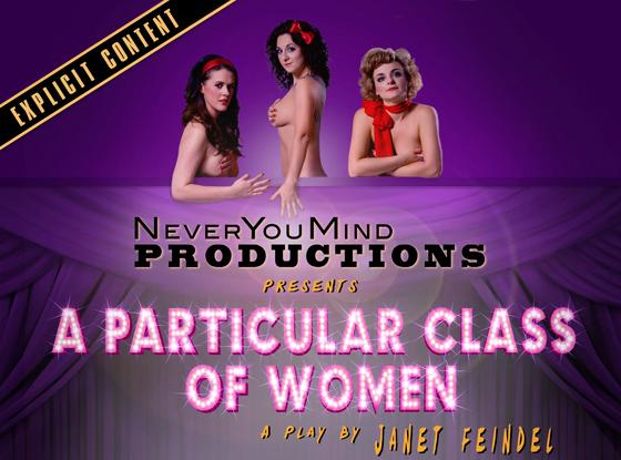 A Particular Class of Women poster