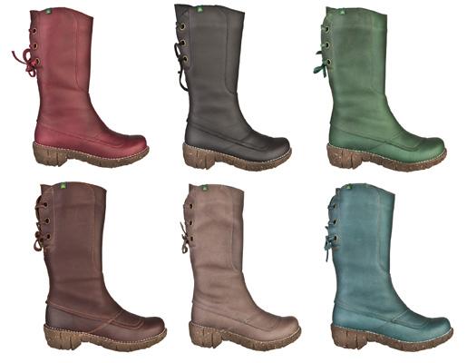 El Naturalista boot colours