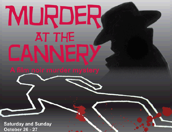 Murder at the Cannery poster