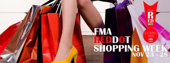 FMA RedDot Shopping Week banner