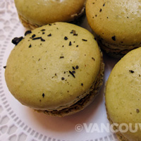 SALONTEA green tea macarons