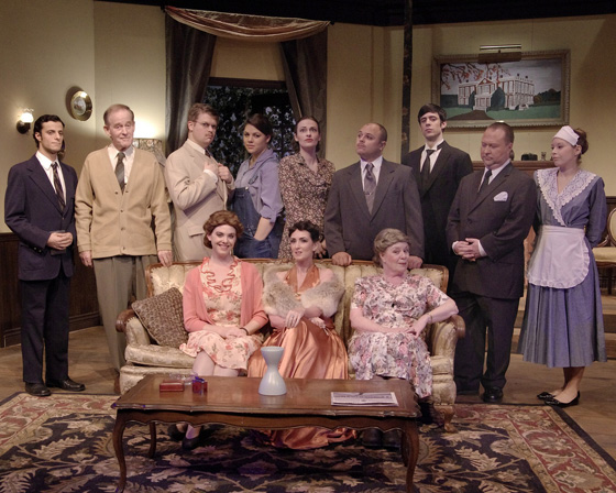 The Hollow cast photo