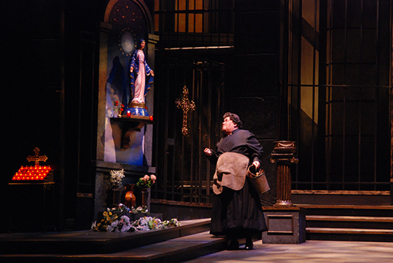 Tosca on stage