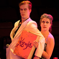 Max Wallace, Laena Brown in Karaoke: The Musical