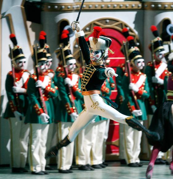 Alberta Ballet Nutcracker performer Yukichi Hattori