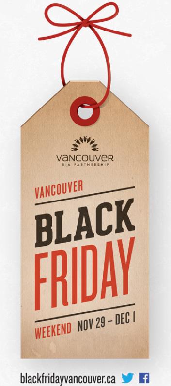 Black Friday Vancouver banner