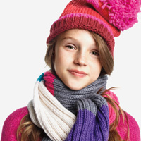 Joe Fresh kids sweater, toque, scarf