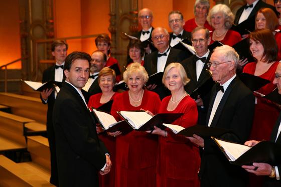 Leslie Dala with Vancouver Bach Choir