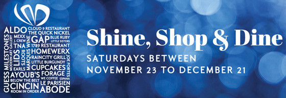 Shine Shop Dine banner