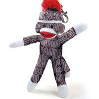 Leukemia and Lymphoma Society Sock Monkey